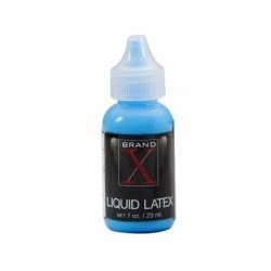 Brand X Liquid Latex 1 oz - Fluorescent Blue