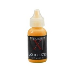 Brand X Liquid Latex 1 oz - Fluorescent Orange