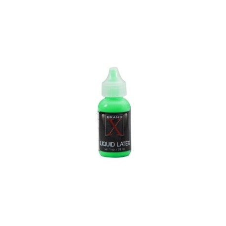Brand X Liquid Latex 1 oz - Fluorescent Green