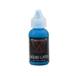 Brand X Liquid Latex 1oz - Blue