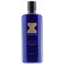 Zach's Wax - Clear Extra Firm Hold Gel 12oz