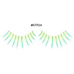 Yellowish-Green Eyelashes