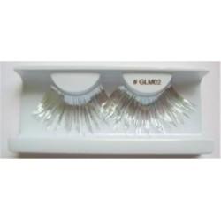 Silver Metallic Eyelashes