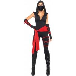Deadly Ninja Women's Adult Costume- Cosplay