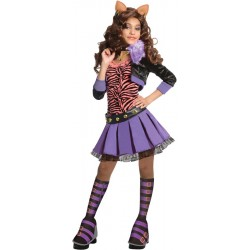 Monster High - Deluxe Clawdeen Costume - Child