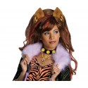 Clawdeen Wig with attached ears
