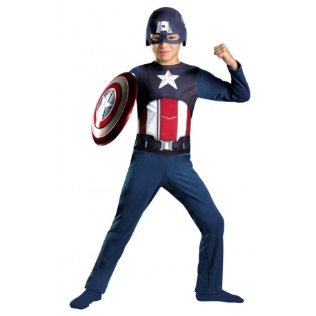 Captain America Costume - Basic