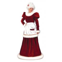 Velvet Dress- Mrs. Santa Claus