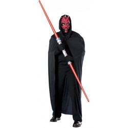 Star Wars Darth Maul Mask and Cape - Adult