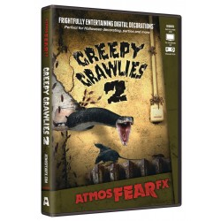 Atmosfear FX- Creepy Crawlies 2 DVDs