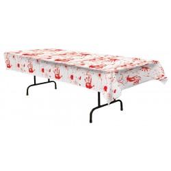 Bloody Handprints Halloween Party Tableware Set