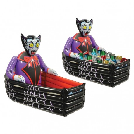 Inflatable Vampire Coffin Cooler