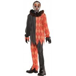 Evil Clown Costume - Boys