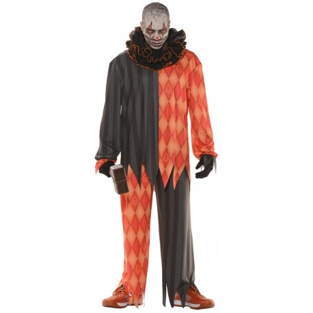 Evil Clown Costume - Teen