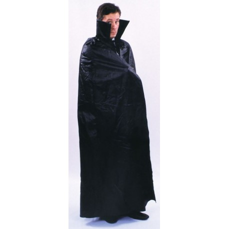 Floor Length Black Cape