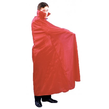 Floor Length Red Cape