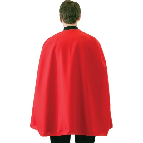 Red Superhero Cape - Adult 36 Inches