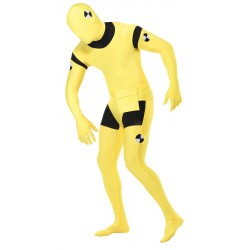 Crash Dummy Skin Suit - Adult Costume