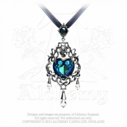 Empress Eugene's Blue Heart Necklace