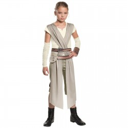 Girls Rey Costume - Star Wars Episode VII The Force Awakens