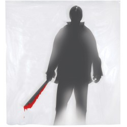Bloody Machete Shower Curtain
