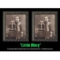 "Little Mary 5""x7"" Changing Portrait, Series Two"