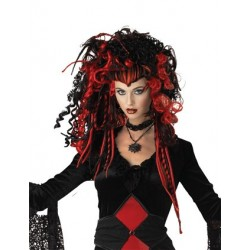 Black Widow Nightmare Wig