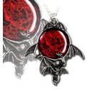 Blood Moon Pendant Necklace
