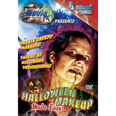 special effects master class halloween make up dvd