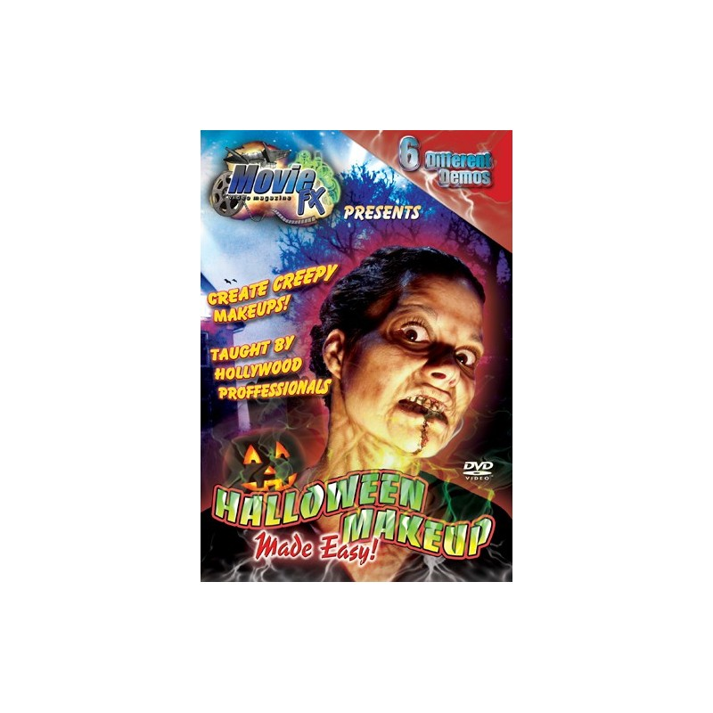 special effects master class halloween make up dvd