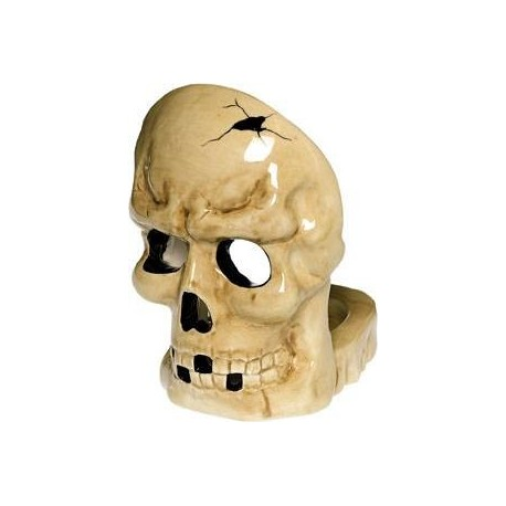 scarey-bones-ceramic-votive-holder