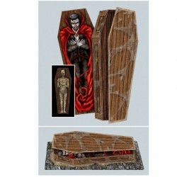 "15"" Foldable Casket Box"