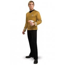 Star Trek Deluxe Gold Shirt Costume