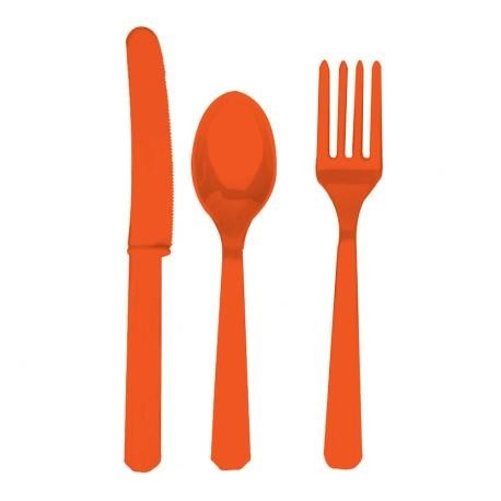 Orange Peel Cutlery Set (60 pcs)