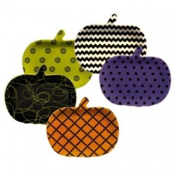 Pumpkin Patch Zany Plates