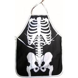 Skeleton Printed Apron