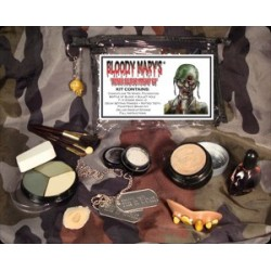 Zombie Soldier Make Up Kit