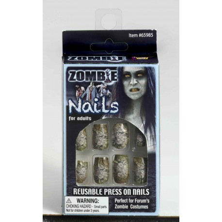 Zombie Reusable Press On Nails