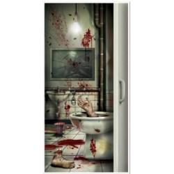 Creepy Crapper Door Cover