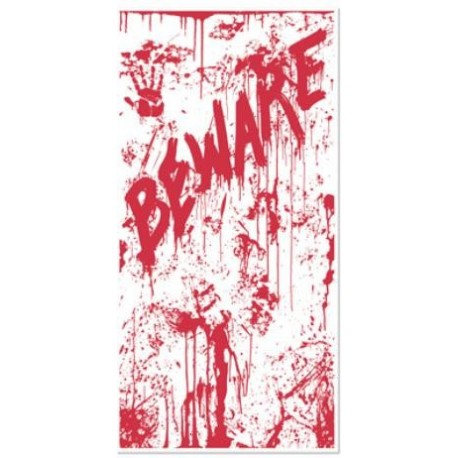 Bloody Beware Door Cover