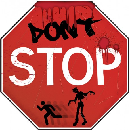 Zombie Stop Sign