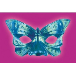 Iridescent Butterfly Mask