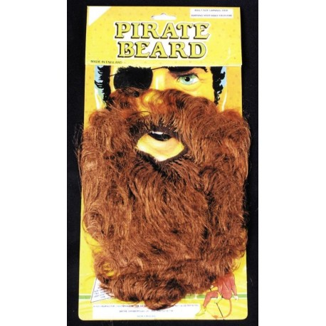 Pirate beard - assorted colours