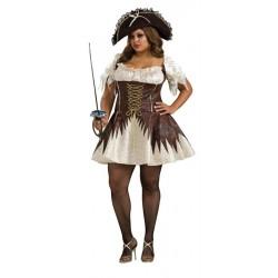 Buccaneer Pirate - Adult Women's Costume - XL