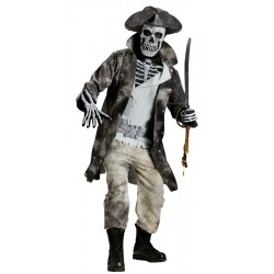 Ghost Pirate Costume - Adult