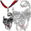 Venetian Mask of Death Necklace