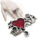 Bed of Blood Roses Ring