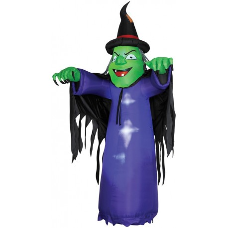 Airblown Witch 12 ft Tall
