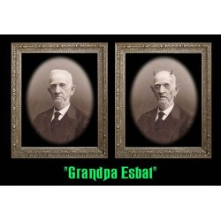 "Grandpa Esbat 5""x7"" Changing Portrait"