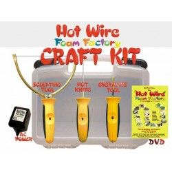 Hot Wire Crafters Deluxe 3-in-1 Kit
